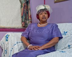 'Daisy after Church', 2011 by Alex Leme from his series 'Small Town: Portraits of a Disappearing America'