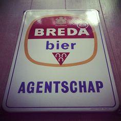 Emaille Bord Breda Bier