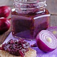 Recept : Cibulová marmeláda | ReceptyOnLine.cz - kuchařka, recepty a inspirace Home Canning, Sous Vide, Food 52, Chutney, Preserves, Jelly, Panna Cotta, Kimchi, Food And Drink