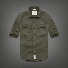 Mens Keene Valley Shirt | Mens Shirts | eu.Abercrombie.com