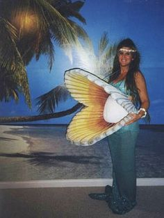25 Pregnancy Halloween Costume Ideas - blog - Pregnant Chicken... I like the Mermaid idea!