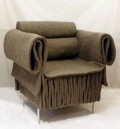 Armchair Classic but Unique and Elegant by Kathryn Walter for Felt studio
