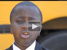Kid President's pep talk to teachers and students (video)