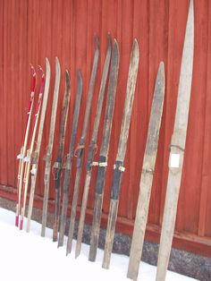 Old skis Finland Finland, Skiing, Dreams, Times, Traditional, Outdoor, Vintage, Historia, Ski