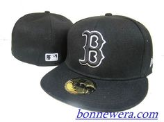 Pas Cher Casquettes Boston Red Sox Fitted 0005 - Acheter MLB Casquettes En Linge - €15.99