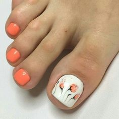 The Most Popular Nail Shapes – Page 2869448886 – NaiLovely Fingernail Designs, Diy Nail Designs, Toe Designs, Toe Nail Color, Toe Nail Art, Nail Colors, Pretty Toe Nails, Cute Toe Nails, Pretty Toes