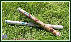Cardboard Tube Rainsticks, musical fun for kids, chldminding activities, home made musical instruments, photo