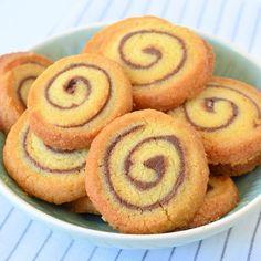 Nutella swirl koekjes (Laura's Bakery) Sweet Cookies, No Bake Cookies, Cupcake Cookies, No Bake Cake, Sweet Treats, Köstliche Desserts, Delicious Desserts, Yummy Food, Bakery Recipes