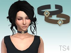 A new choker for your female sims!  Found in TSR Category 'Sims 4 Female Necklaces'