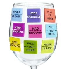 These Wine Identifiers Label How Much More is Needed in Each Glass trendhunter.com