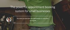 Are you a n appointment-based business? Try online booking free today to cut your admin time and no-shows: https://10to8.com/trial/