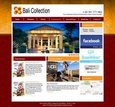 Bali Collection  Join with Eka Susila  web design, web development, wordpress