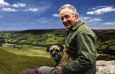James Herriot, author of All Creatures Great and Small and others based on his veterinary experiences.