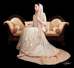 Elan - never have I ever been so in love with a dress! They truly are the perfect designer house for a walima! <3