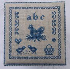 ABC freebie- make redwork for mamma's kitchen