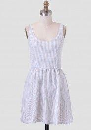 Breakfast At Tiffany's Indie Tweed Dress