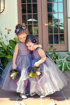 ❀ Fanciful Flower Girls ❀ dresses & hair accessories for the littlest wedding attendant :-) purple Lilac Wedding, Wedding Gowns, Dream Wedding, Flower Girls, Flower Girl Dresses, Girls Dresses, Lavender Dresses, Lavender Flower Girl Dress, Wedding With Kids