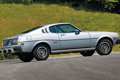 """1976 1977 Toyota Celica GT Liftback Promo Photo #00 - #161045 - Automobile Magazine. Oh do i remember! A girl i knew had a Tiger with a small rust hole and i patched my first body for """"favors"""". <3 <3 <3"""