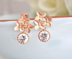 A personal favorite from my Etsy shop https://www.etsy.com/listing/249216724/cherry-blossom-earrings-rose-gold