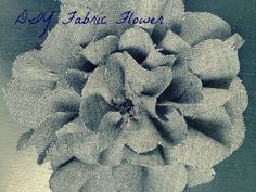 DIY Fabric Flower Pin