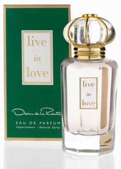 Oscar De La Renta Live In Love Eau De Parfum Spray 100ml Formed from a mixture of florals and sandalwood to create a statement yet non overpowering scent. #feelunique #ODLR #perfume #liveinlove #discrete