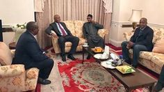 """NO CAUSE FOR ALARM"", SARAKI SAYS AFTER MEETING PRESIDENT BUHARI IN LONDON"