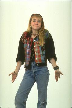 Clarissa Explains It All (Melissa Joan Hart) Weird Fashion, Look Fashion, Fashion Outfits, Fashion Trends, 90s Dress Up, Clarissa Explains It All, Melissa Joan Hart, 90s Outfit, Vintage Fashion