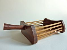 Teak houten cigaretten presenteer bakje