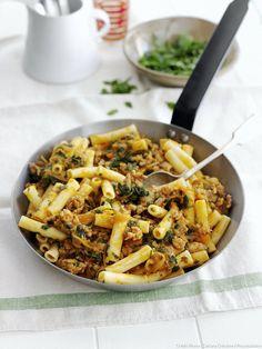 Pour changer des spaghettis aux boulettes de viande...