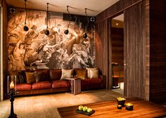 Contact The Chedi Andermatt, Switzlerland. The Chedi Andermatt is a contemporary GHM hotel set in the natural beauty of the Swiss Alps. Andermatt, Bel Air, Hotel Berg, Scandi Living Room, Palace, Switzerland Hotels, Interior Architecture, Interior Design, Chalet Style