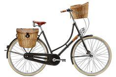 Bullitt Cargo Bike, Dutch Bicycle, Upright Bike, Urban Bike, Bicycle Women, Commuter Bike, Biker Chic, Vintage Bicycles, Hybrid Bikes