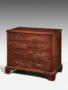 George III Period Mahogany Chest of Drawers