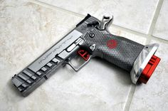 SVI Infinity Sight Tracker pistol -  (This is the sexiest handgun ever) www.Rgrips.com