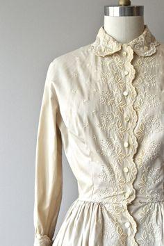 1950 Milk and Honey dress vintage 1950s dress 50s by DearGolden