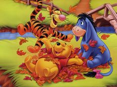 Winnie the Pooh ,Eyore and Tigger