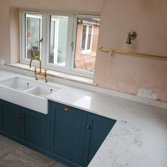 Monaco Carrera- Ware, Herts - Rock and Co Granite Ltd Marble Stones, Carrara, Double Vanity, Monaco, Granite, Color Schemes, Home, R Color Palette, Colour Schemes
