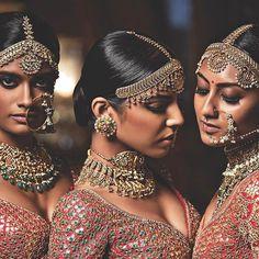 Timeless Handcrafted Jewels by #KishandasForSabyasachi. #Sabyasachi #HeritageWeddings #IndianJewels #HeritageJewellery #HandcraftedJewellery #IndianWeddings @sabyasachiofficial