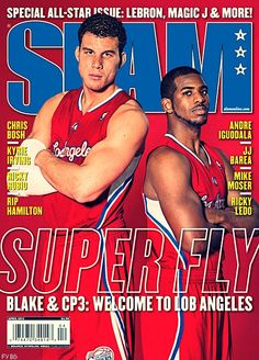 cdcfb3bd4a20 CP3 and Blake Griffin cover the April 2012 issue of Slam Magazine Slam  Magazine
