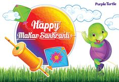 """Wishing that this festival brings good luck and prosperity and hoping that it is joyous, and fills your days ahead with happiness"" Happy Makar Sankranti to all from Purple Turtle​ Team! #PurpleTurtle #MakarSankranti #Festival"