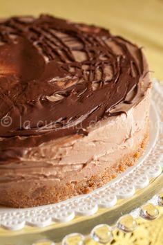 Cheesecake al cioccolato di Lorraine Pascal