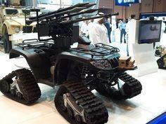 Unique ATV with tracks (Type Unknown)