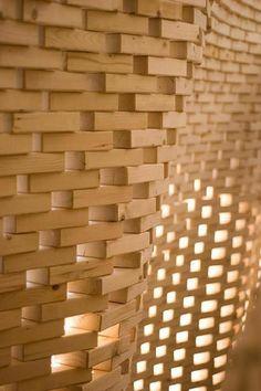 stacks of wood blocks