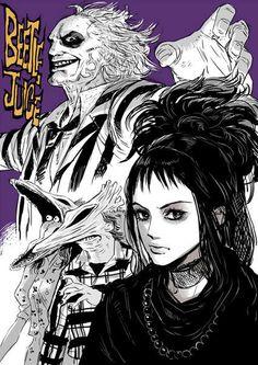 Beetlejuice  Lydia manga