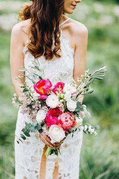 Brautstrauß Pfingstrosen  Fotos & Blumen: Le Hai Linh Photography