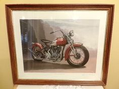 1939 Crocker Big Tank by Ron Weiland Signed Lithograph, matted and framed , Vintage Print by Morethebuckles on Etsy