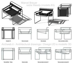 Sketch Bar, Bauhaus Chair, Chair Design, Furniture Design, Wassily Chair, Marcel Breuer, Industrial Design Sketch, Ludwig Mies Van Der Rohe, Diy Wood Projects