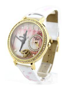 Handmade Polymer Clay Ballet Watch