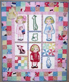 Babys First Paper Doll Quilt Pattern Aunt Lindys by siblingarts, $12.00