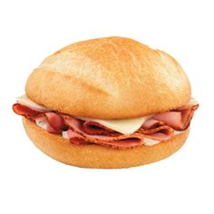 Hammmmm It Up! Dunkin' Donuts Ham & Cheese Bakery Sandwich.