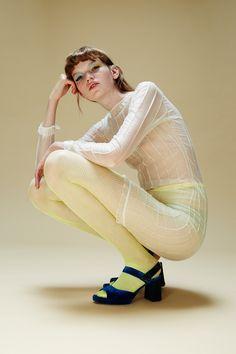 Eva, Lauren & Maren by Raffaele Cariou & Morgane Nicolas - Eva dress: Anna Corfa tights: stylist's own shoes: Amélie Pichard